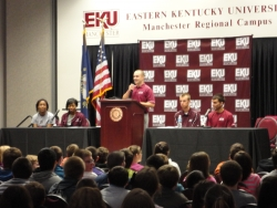 EKU Athletic Mentors at the Manchester Regional Campus