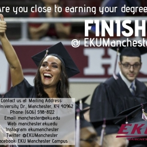 Finish Your Degree at EKU Manchester